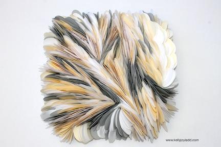 kellyjoyladd.com; paper artist; paper art